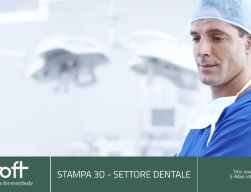 Stampa 3D per il dentale