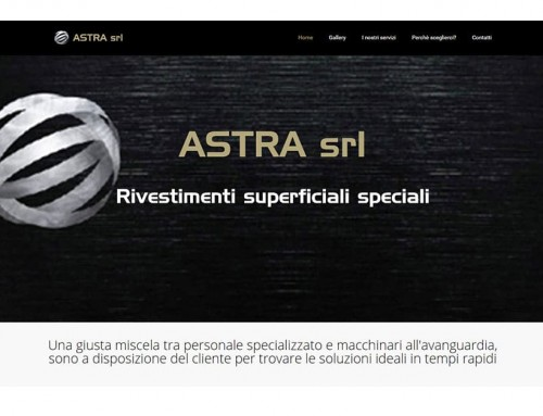 Astra SRL – new site